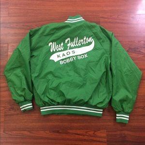 Vintage 80's West Fullerton Koas Bobby Sox Jacket